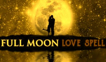 Full Moon Spell For Love